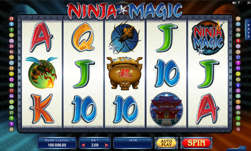 Ninja Magic free slot