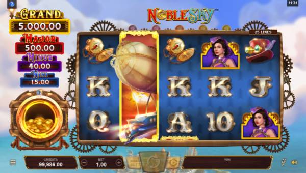 Noble Skyjackpot slot