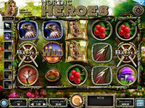 Nordic Heroes free slot