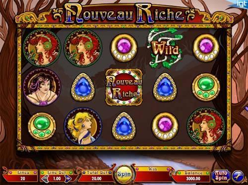 Nouveau Riche free slot