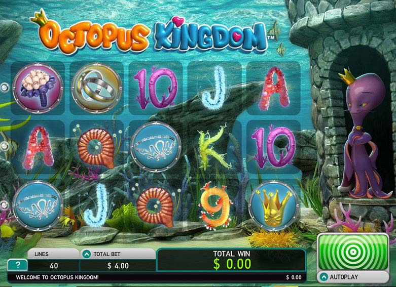Octopus Kingdom free slot