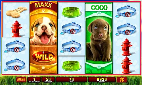 OMG Puppies free slot