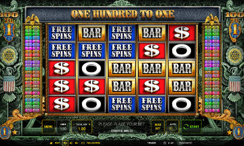 One Hundred To One free slot