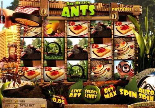 One Million Ants free slot