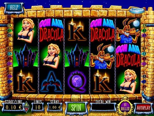 Ooh Aah Dracula free slot