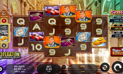 Operation Diamond Huntjackpot slot
