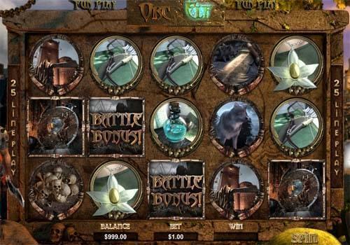 Orc vs Elf free slot