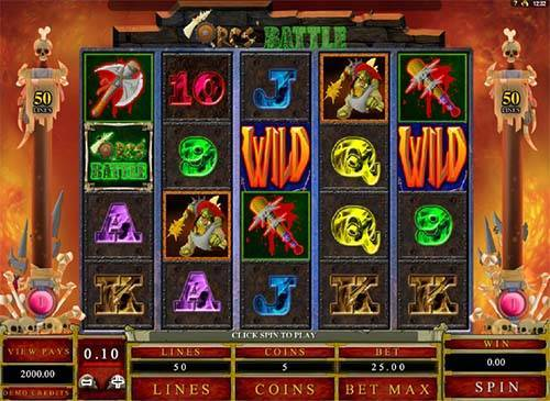Orcs Battle free slot