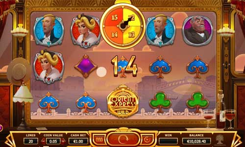 Orient Express free slot