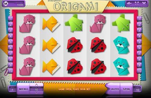 Origami free slot