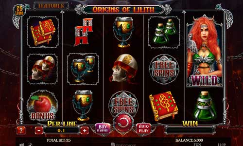 Origins of Lilith free slot