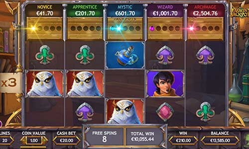 Ozwins Jackpots free slot