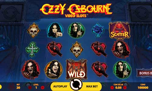 Ozzy Osbournesymbol upgrade slot