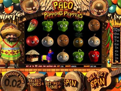 Popping Peppers free slot