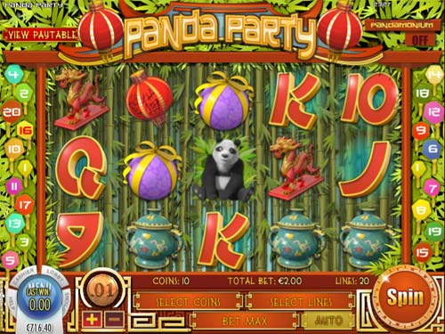 Panda Party free slot
