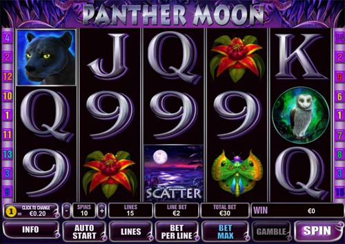 Panther Moon free slot