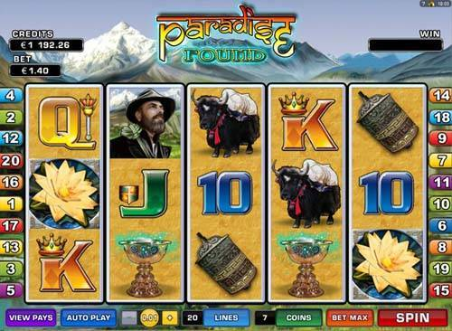 Paradise Found free slot