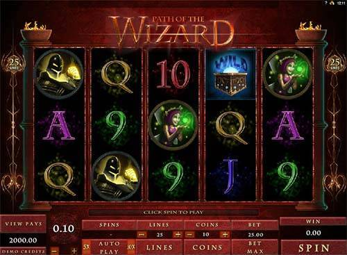 Path Of The Wizard free slot