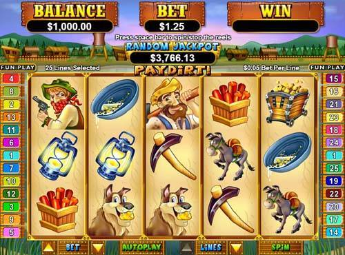 Pay Dirt free slot
