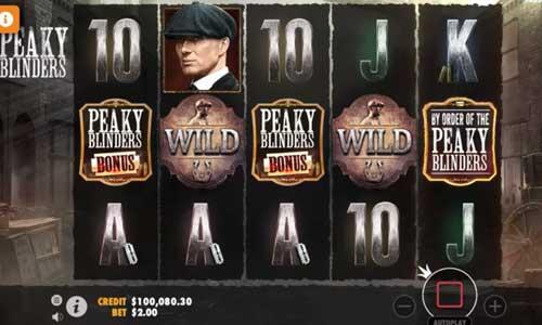 Peaky Blinders free slot