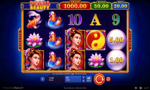 Pearl Beauty Hold and Win casino slot