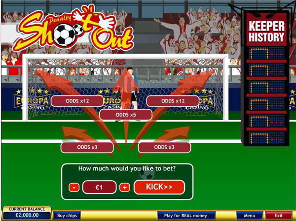Penalty Shootout free slot