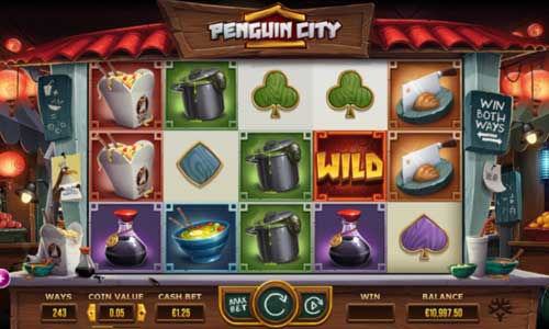Penguin City free slot