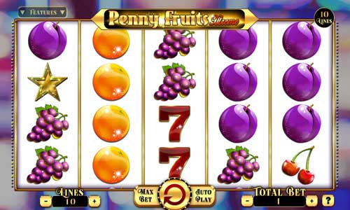 Penny Fruits Xtreme free slot