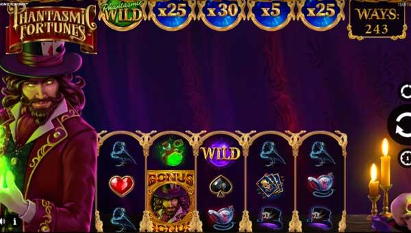 Phantasmic Fortunes free slot