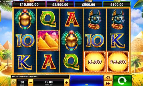 Pharaohs Daughterjackpot slot