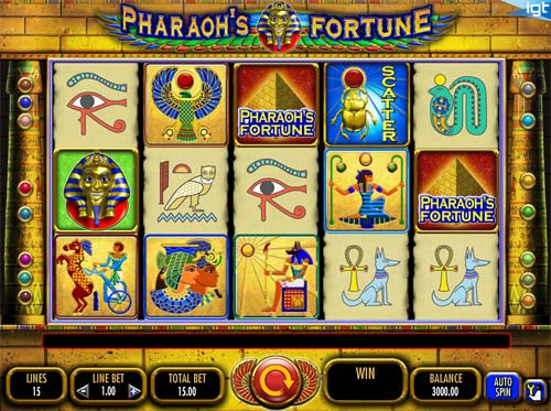 Pharaohs Fortune free slot