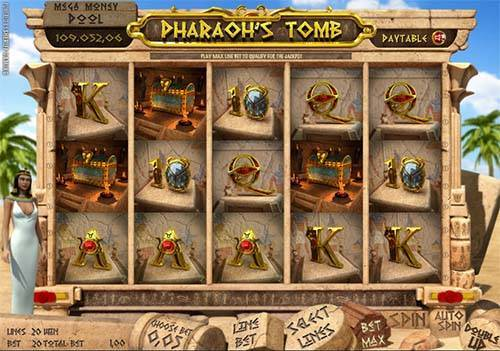 Pharaohs Tomb free slot