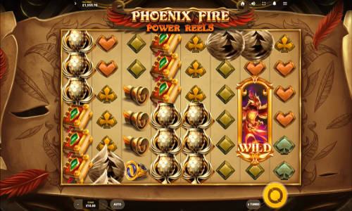 Phoenix Fire Power Reelscluster pays slot