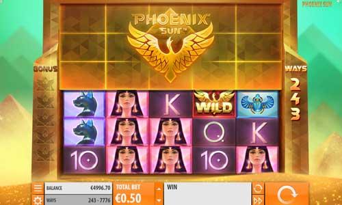 Phoenix Sun free slot