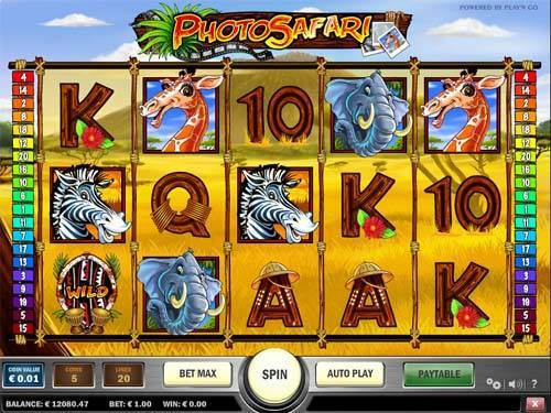 Photo Safari free slot