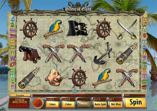 Pieces of Eight free slot