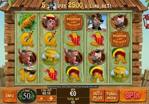 Piggies and the Wolf free slot
