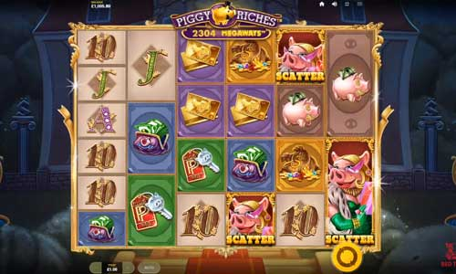 Piggy Riches Megaways free slot