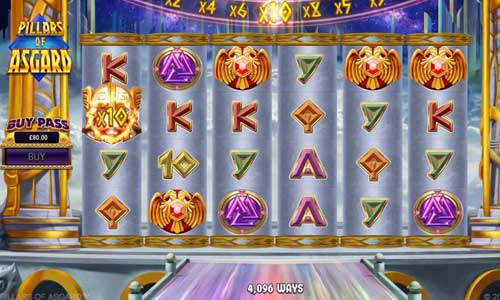 Pillars of Asgard free slot