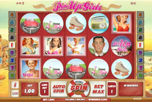 Pin Up Girls free slot