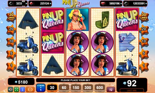 Pin Up Queensjackpot slot