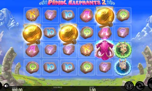 Pink Elephants 2symbol upgrade slot