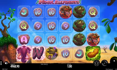 Pink Elephants free slot