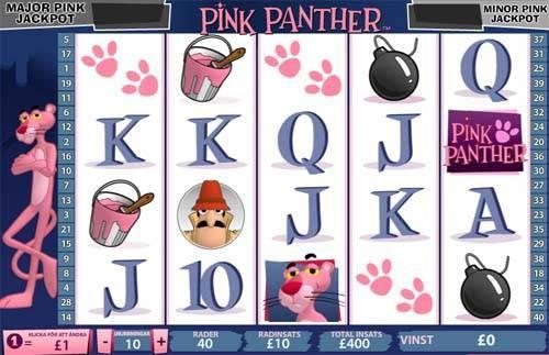 Pink Panther free slot