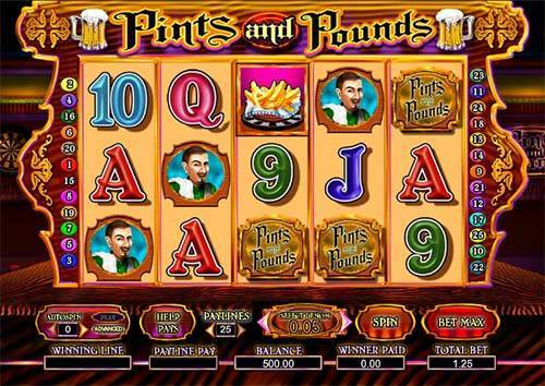 Pints and Pounds free slot