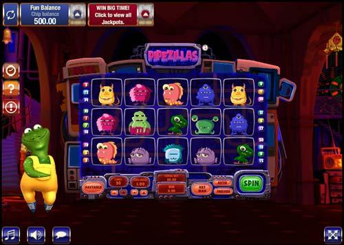 Pipezillas free slot