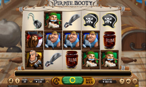 Pirate Booty free slot
