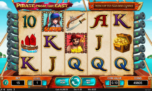 Pirate from the East free slot