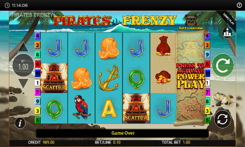 Pirates Frenzy free slot
