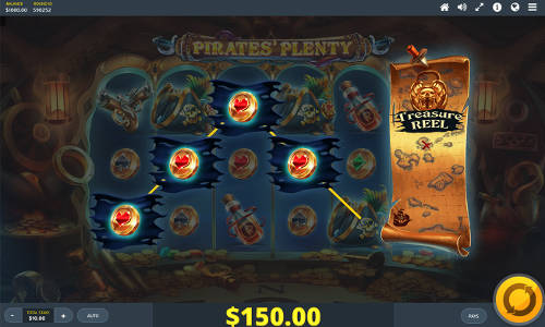 Pirates Plenty The Sunken Treasure free slot